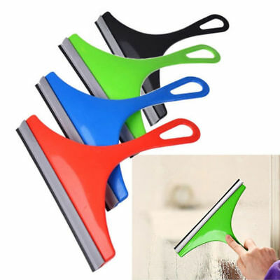 Window Squeegee Glass Cleaning Wiper Rubber Blade Shower Screen Washer