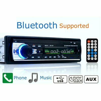 Car Radio Bluetooth Stereo Head Unit Player MP3/USB/SD/AUX/FM In-dash for iPod