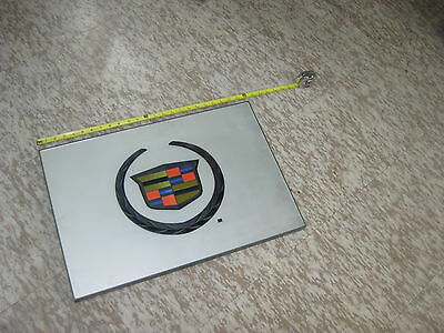"GM CADILLAC DEALERSHIP 24""x16"" PLAQUE & CREST  DEVILLE FLEETWOOD SEVILLE CALAIS"