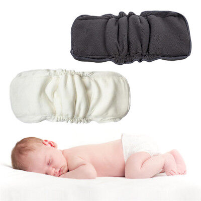 5 Layers Bamboo Fiber Insert Liners For Cloth Diaper Nappy Changing Pad Reusable