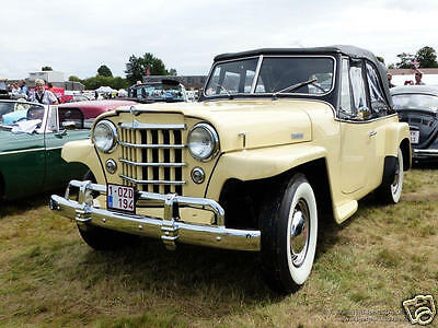 Willy's Jeepster 1951