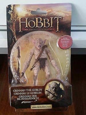 """RARE THE HOBBIT 6"""" Scale GRINNAH THE GOBLIN Sealed Lord of the Rings"""