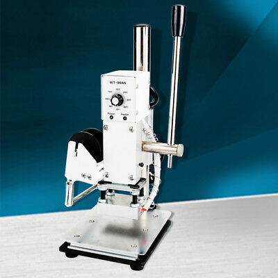 Small Manual Hot Foil Stamping Machine Leather Plastic Bronzers machine 110/220V