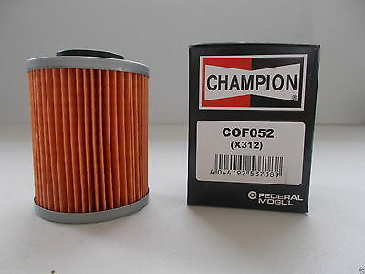 CHAMPION OIL FILTER for CAN AM ATV 800 R Outlander Max EFI XT 2009 > 2013