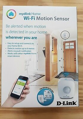 D-Link mydlink Home Wi-Fi Motion Sensor DCH-S150 New, Sealed