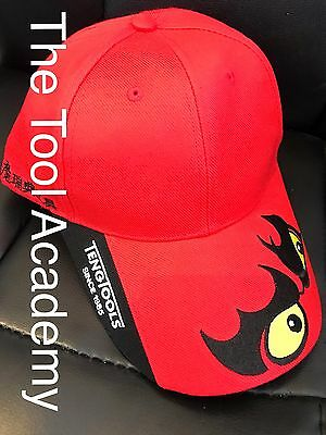 Teng Sale!  Baseball Cap ! In  Red White With Embroided Teng Logo