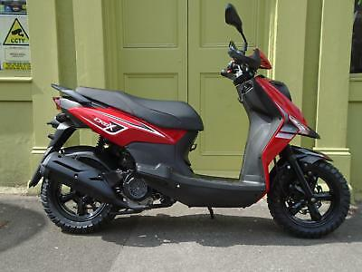 Sym Crox 125 With 5 Year Warranty Linked Brakes & Fuel Injected 0% Finance