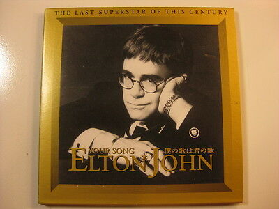 ELTON JOHN Japan 2CD Superstar of the Century Your Song PROMO 1994