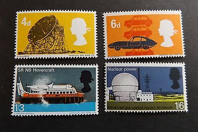 GB MNH STAMP SET 1966 Technology (ord) SG 701-704 UMM