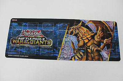 Yu-Gi-Oh! War of the Giants Battle Pack 2 - Single Player Playmat - New