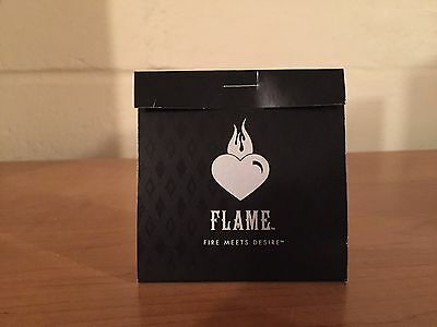 Burger King Flame Cologne Perfume - 2008 - Fire Meets Desire Promo Advertising