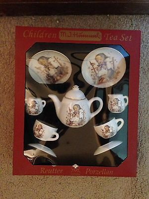 Children MJ Hummel Tea Set