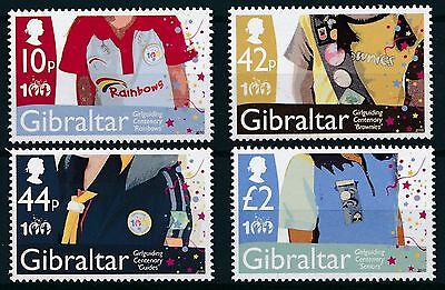 [BIN10708]Gibraltar 2010 Girlguiding - Scouting Good set of stamps very fine MNH