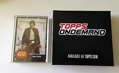 2017 Topps On Demand Star Wars May the 4th 20 card completed set Vintage