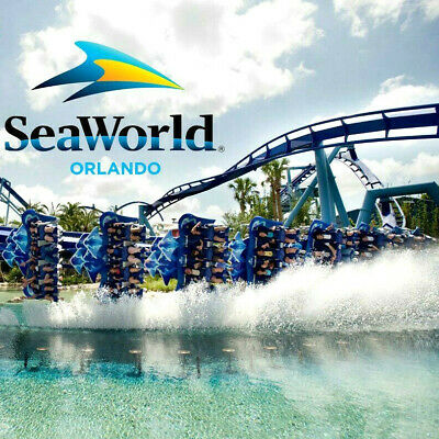 Seaworld Orlando Florida Ticket & All Day Dine $105  A Promo Discount Tool