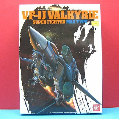 Bandai [Macross] 1/72 VF-1J Valkyrie Super Fighter [MAX Type] model kit #0156858