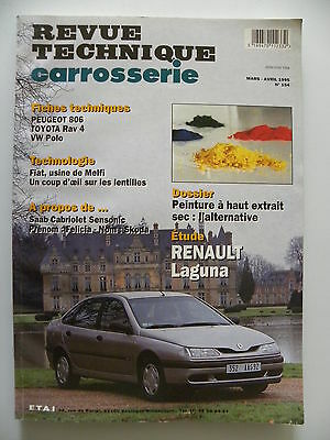 revue technique automobile carrosserie RTA Renault Laguna