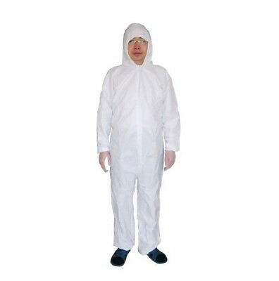 Disposable Coveralls Dust Spray Suit Siamese Non-woven Dust-proof Clothing AB