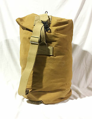 Canadian Military Army Canvas Duffel Bag Post War 1952 Dated