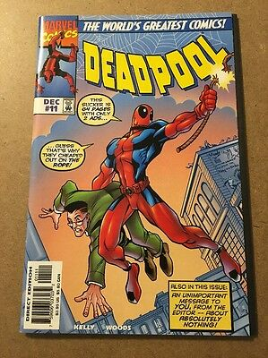Deadpool # 11 (Dec 1997, Marvel) Double Sized/Amazing Fantasy 15 Homage