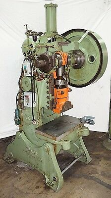 Walsh 55 ton punch press 3 inch stroke