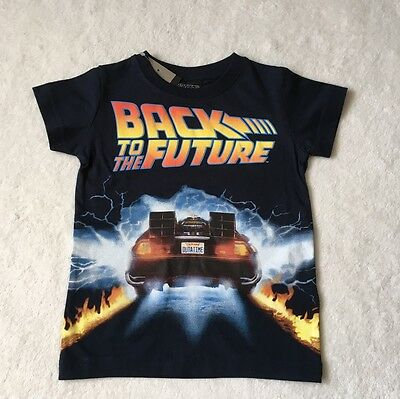 ***BNWT Next baby boys Back to the Future top t shirt 12-18 months***