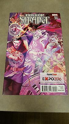Doctor Strange #11 Anaheim Expo2016 Gamestop Exclusive Variant Unread