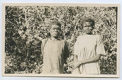 C1920's/30's Rp Scarce Postcard Semi-Tribal Aboriginal Women North Australia L51