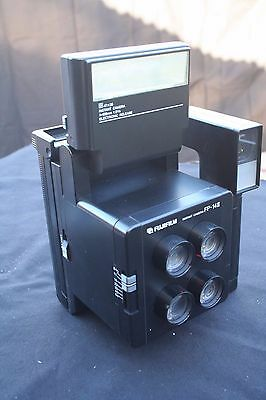 Fuji instant camera FP-14II – four lenses – passport