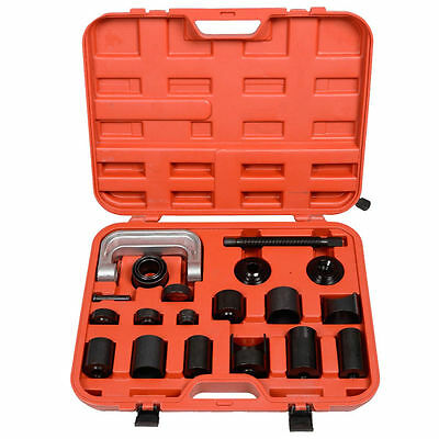 New 21pc Ball Joint Adapter Set Car Pneumatic Master Remover Service Tool Kit