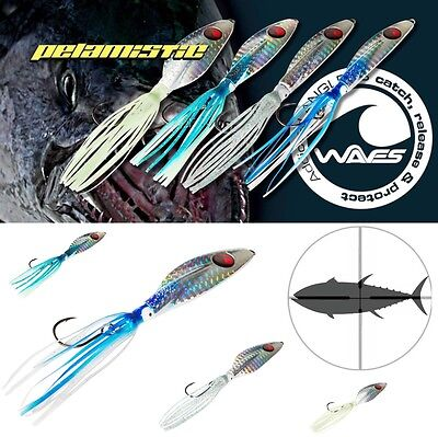 WAVES SHORE GAME SPECIAL JIG LURE PELAMISTIC 45g