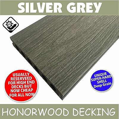 Composite Deck Silver Grey, Ekodeck, Eco Decking Same Colour As Modwood Wpc