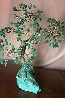 Vintage Asian Jade Bonsai Tree