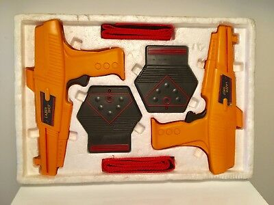 Vintage 1980's TANDY Laser Tag Set In Mint Condition - LAZER SHOT