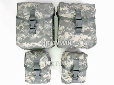 US Military ACU SAW Gunners Pouch Set - 100 and 200 Round  - New in Pack - USA
