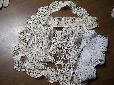 Collection of Various Vintage Crochet Pieces (Some Irish Rose)