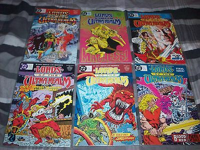 LORDS OF THE ULTRA REALM 1-6 FANTASY THE SET! Hi-Grade DC Comics