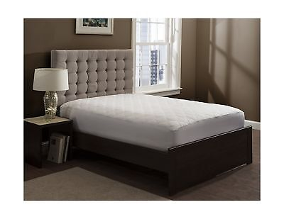 """Mattress Pad Cover - Fitted - Quilted - Queen (60x80"""") - Stretches to 20""""... New"""