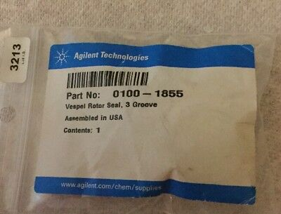 New HP / Agilent  0100-1855 Vespel Rotor Seal 3 Groove for 0101-0921 Valve