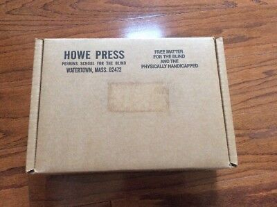 "500 Sheets Ream Braille Heavy 8 1/2"" X 11"" Howe Press Paper For Perkins Brailler"
