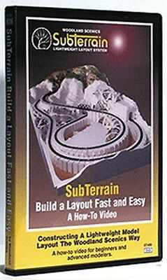 Woodland Scenics - SubTerrain: Build A Layout Fast and Easy (DVD)  - ST1400