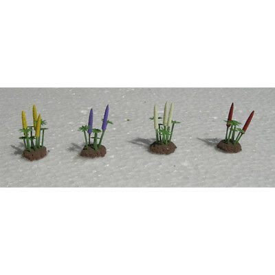 """JTT Scenery Products-O Lupines, 1"""" tall (8)"""