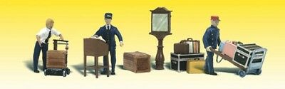Woodland Scenics - Depot Workers & Accessories (O Scale)  - A2757