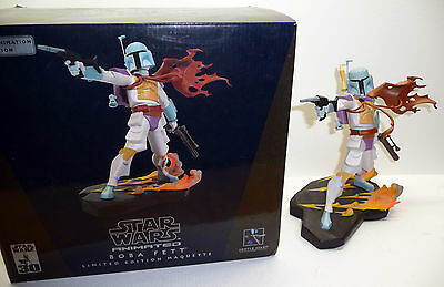 STAR WARS Gentle Giant BOBA FETT HOLIDAY SPECIAL Animated Maquette 2006 Statue