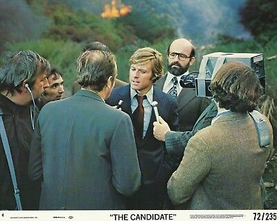 """ROBERT REDFORD in """"The Candidate"""" Original Vintage Photograph 1972"""