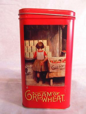 Cream of Wheat Nabisco 1999 Tin Can Container