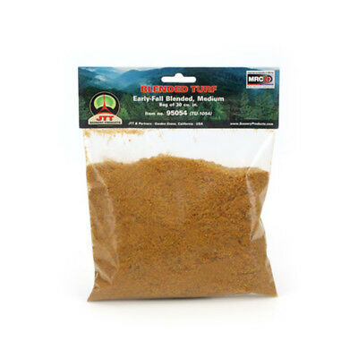 JTT Scenery Products-Medium Blended Turf, Early Fall
