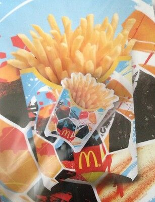 McDonalds Collectible Lapel Pin Tes One FIFA Brasil French Fries Soccer NEW