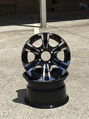 12 Inch Golf Cart Wheels,  Golf Car, Golf Buggy.  Multiple Styles Available