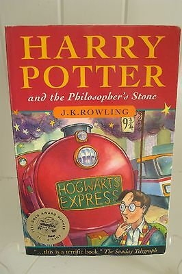 Harry Potter & The Philosopher's Stone - Joanne Rowling 1st Aus - Early Edition